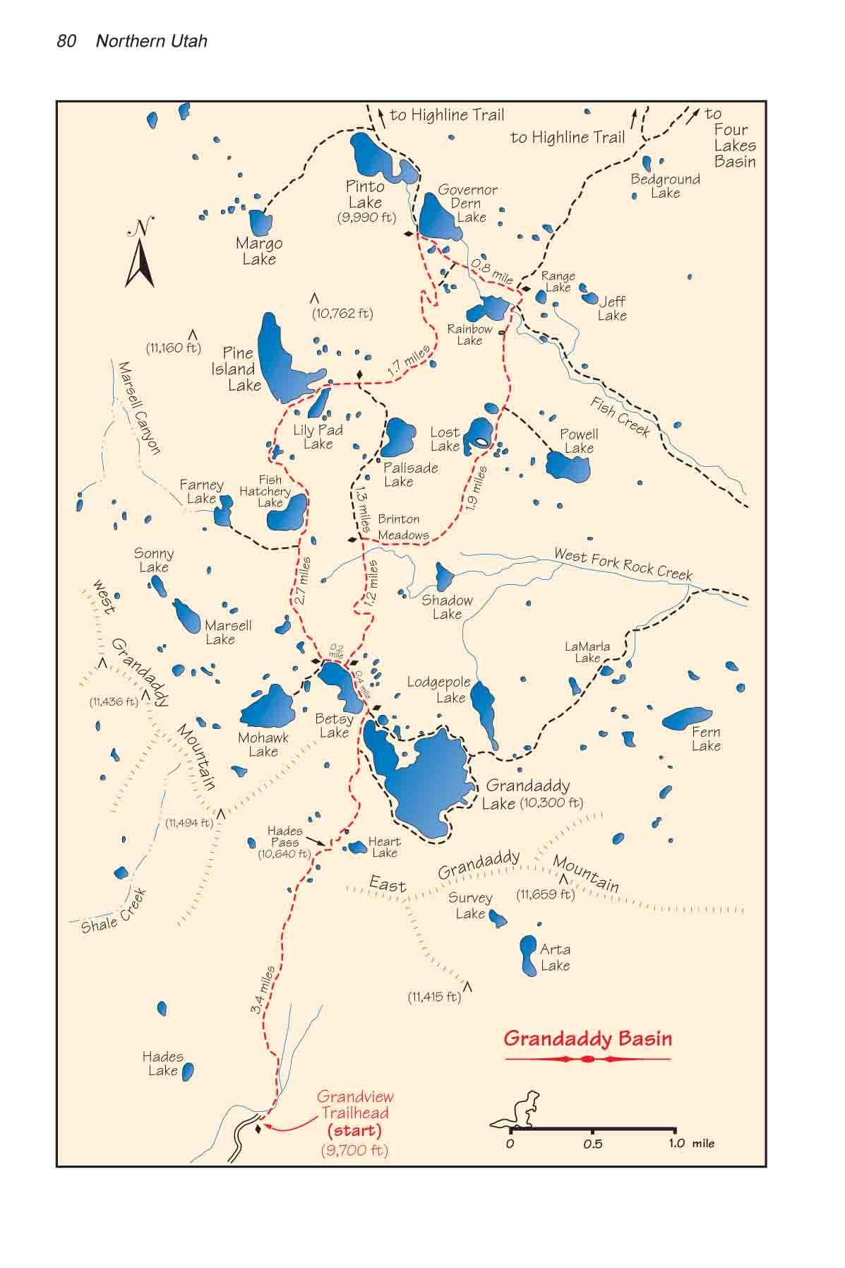 Grandaddy Basin High Uintas Wilderness Area