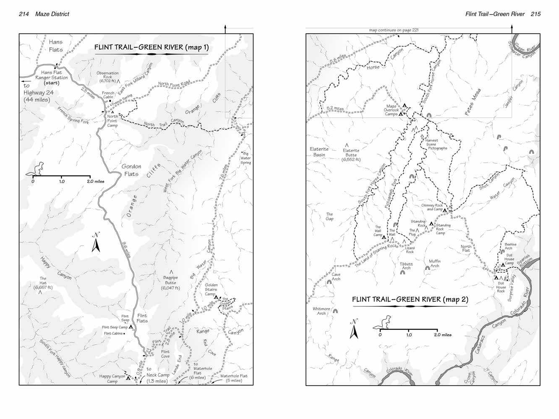 Flint TrailGreen River Canyonlands National Park UtahTrailscom