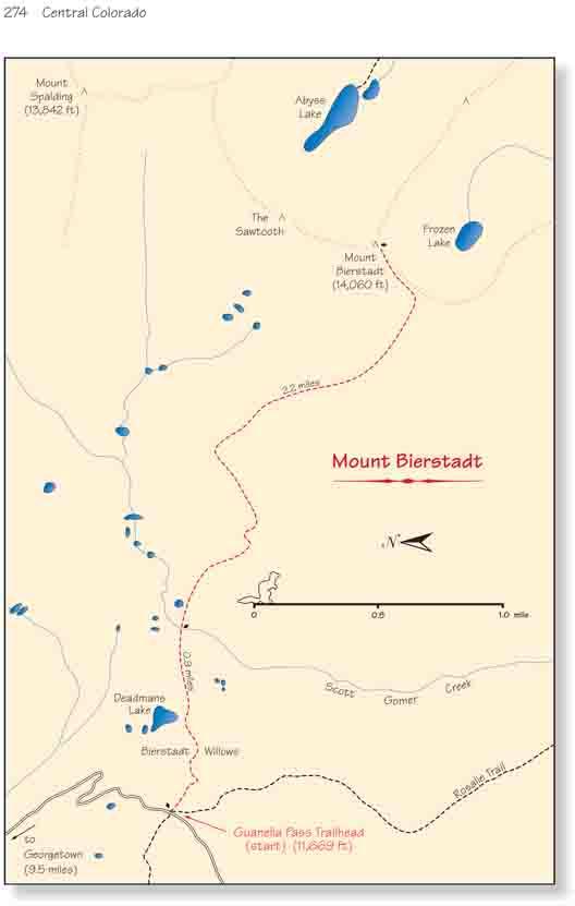 Mt Bierstadt Trail On Guanella Pass