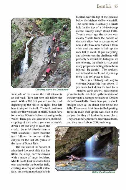 The Donut Falls Hike | UtahTrails com